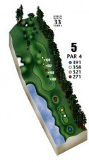 Aberdeen Country Club Hole Meadows #5