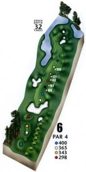 Aberdeen Country Club Hole Meadows #6