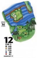 King's North at Myrtle Beach National Hole 12