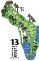King's North at Myrtle Beach National Hole 13