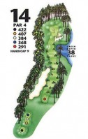 King's North at Myrtle Beach National Hole 14