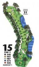 King's North at Myrtle Beach National Hole 15