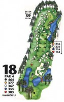 King's North at Myrtle Beach National Hole 18