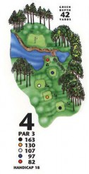 King's North at Myrtle Beach National Hole 4