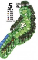 King's North at Myrtle Beach National Hole 5