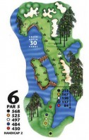 King's North at Myrtle Beach National Hole 6