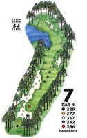 King's North at Myrtle Beach National Hole 7