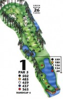 King's North at Myrtle Beach National Hole 1