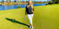 Thumbnail for: Unscripted With LPGA Instructor Meredith Kirk: Putting Speed Drill