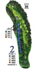 South Creek at Myrtle Beach National Hole 2