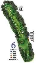 South Creek at Myrtle Beach National Hole 6