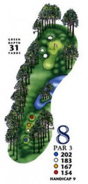 South Creek at Myrtle Beach National Hole 8