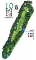 West Course at Myrtle Beach National Hole 10