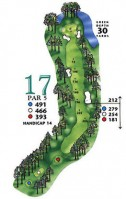West Course at Myrtle Beach National Hole 7