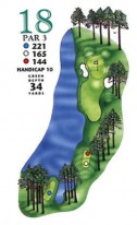 West Course at Myrtle Beach National Hole 18