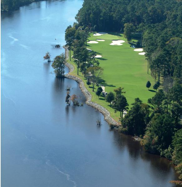 Tumbnail for: 5 Myrtle Beach Golf Courses with Notable Elevation Changes
