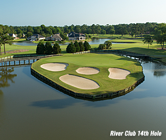 River Club 14th Hole